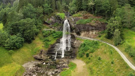 hordaland : Steinsdalsfossen is a waterfall in the village of Steine in the municipality of Kvam in Hordaland county, Norway. The waterfall is one of the most visited tourist sites in Norway.