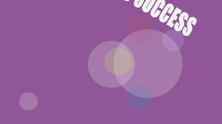 sucesso : business success, Business Related Words Background Loop