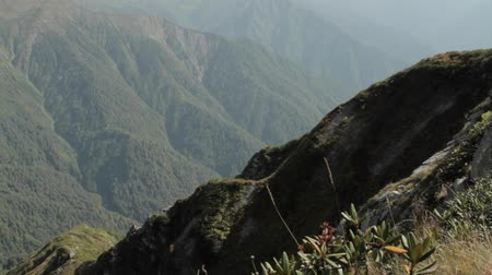 pico da montanha : mountain view from summit top