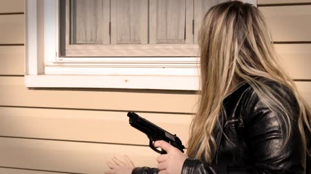 amendment : Female Secret Agent attempts to break into house V2   Action Movie Shots