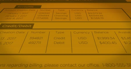 forma : Retro Online Digital Banking Website Interface