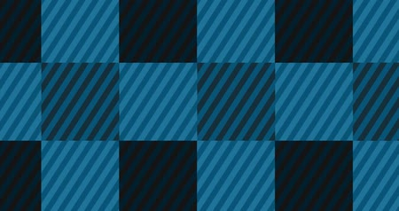 piknik : Looping Light Blue Flannel Background Stok Video