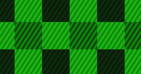 tık : Looping Dark Green Flannel Background