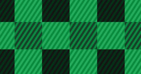 Looping Light Green Flannel Background