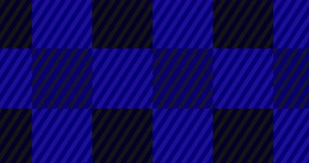 Looping Dark Blue Flannel Background