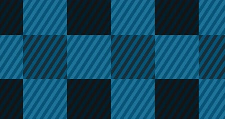 tık : Looping Light Blue Flannel Background Stok Video