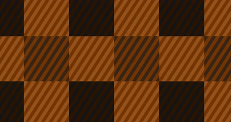 Looping Orange Flannel Background