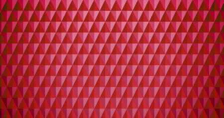 Red Looping Triangle BG