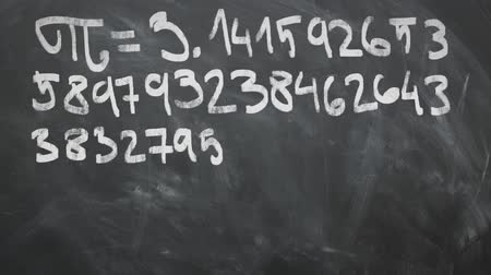 vissza : Fri - 3.14 Animation On Chalkboard. Great For Your Math Related Projects. High-Quality Animation.