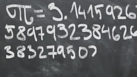 一定の : Fri - 3.14 Animation On Chalkboard. Great For Your Math Related Projects. High-Quality Animation.