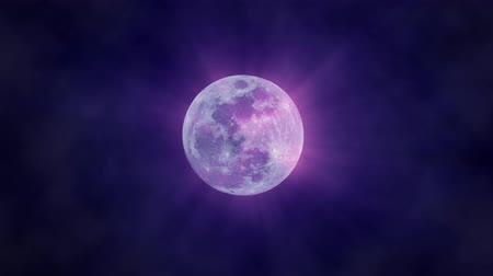 mensal : Violet  Magical Shining Background, Seamless Loop. Ideal For Your Astrology High-Quality Animation, 4K, 60fps.