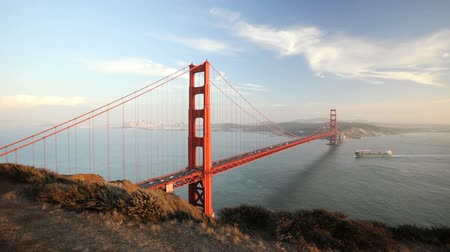 pomost : Bay area and the Golden Gate bridge