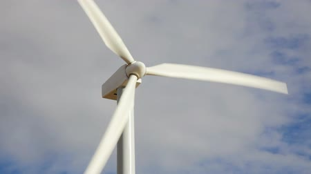 turbine : Close up of a wind turbine Stock Footage