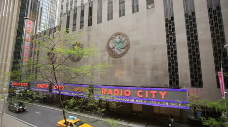 New York City berühmten Radio City Music Hall