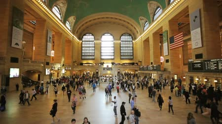 Pendler in der Grand Central Station in New York City