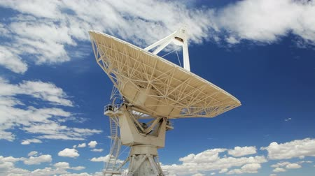 dish : Very Large Array Antenna, Time Lapse, New Mexico