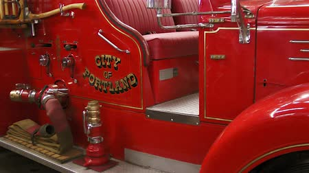 Antique fire engine, Portland, Oregon