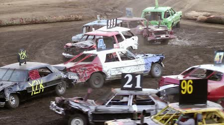 Demolition derby, fiera Clark County, Washington, include audio