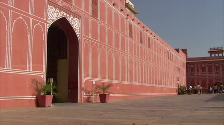 City Palace cortile interno, Jaipur, Rajasthan, India