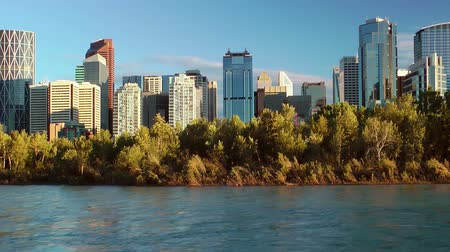 canadien : Downtown Calgary skyline