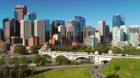 kanadai : Downtown Calgary skyline