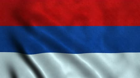 republic of srpska : 4K Seamless Loopable Flag of Republic of Srpska