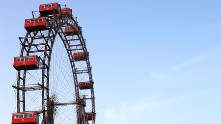 pneu : Famous and historic Ferris wheel of Vienna