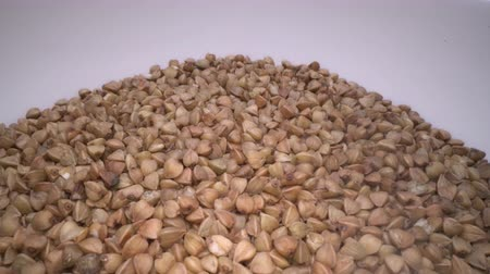 trigo sarraceno : Dried buckwheat seeds. Gluten free ancient grain for healthy diet, health lifestyle