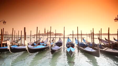 tourism : gondolas in Venice