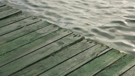 senhor : Wooden pier and Soft Waves