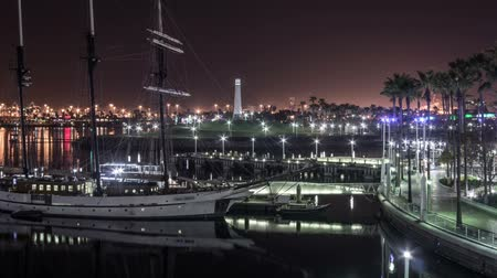 falu : Harbor Lights Time Lapse Video Loop