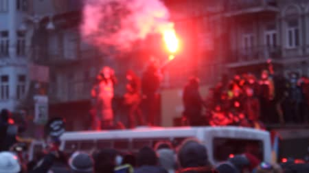 kavga : Strike in Ukraine - A new wave: real fights with police!