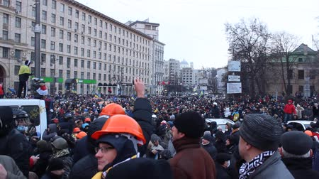 kijev : Strike in Ukraine - A new wave: real fights with police!