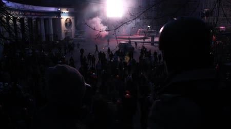 protesto : Strike in Ukraine - A new wave: real fights with police!