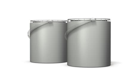 immobilien : Simple miniature of oil tank. Loop video. White background.