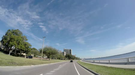 tampa bay : Tampa, USA, Feb 8, 2016: Beautiful view of the Tampa skyline from Bayshore Boulevard in Tampa, Florida on Feb 8, 2016.