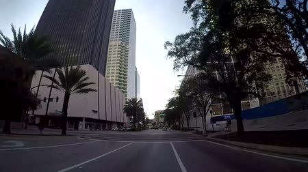 tampa bay : TAMPA, FL - FEB 3, 2017: POV boarding the riverwalk and city center in Tampa, Florida in Feb 3, 2017. Downtown Tampa is the place of the main economy in Tampa Florida.