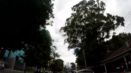 américa central : GUATEMALA CITY - JUN 23, 2017: POV of main commercial area of Guatemala City, By far the richest and most powerful regional economy within Guatemala in Guatemala City on June 23, 2017.