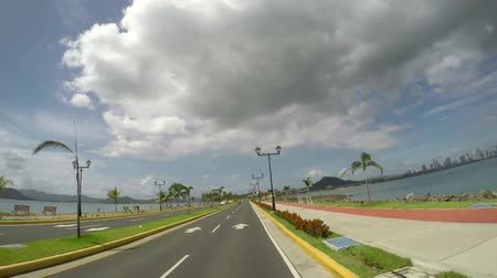 POV of Causeway (Islas Calzada de Amador) are 4 small islands by the Pacific entrance to Panama Canal. Its one of the main highlights of Panama. Vídeos