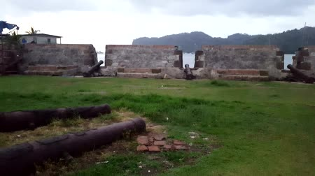 PANAMA, APR 14: San Lorenzo fort Spanish ruins. Environmental factors, lack of maintenance and uncontrollable urban developments have cited UNESCO List of World Heritage in Danger, Panama Apr 14, 2017