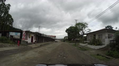Boquete Panama July 21: Main area in Boquete where tourist make many visits because of the weather and green area on Boquete, Panama in July 21, 2018 Vídeos