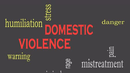 forródrót : Domestic Violence and Abuse concept word cloud background