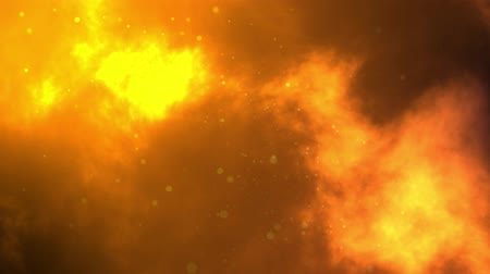 Abstract background animation of flowing lava and Bubble Particles. Seamless Loop Animation in 4K