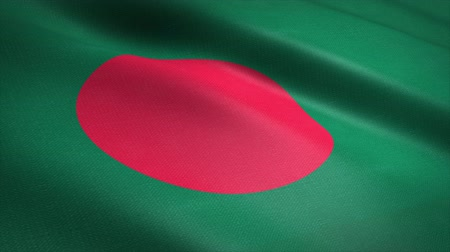 Bangladesh seamless loop video. Seamless loop with highly detailed fabric texture. Loop ready in 4K resolution