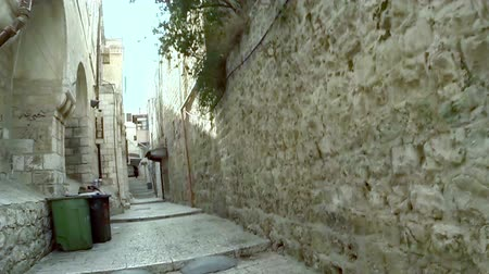 wailing wall : Strolling in the old city of Jerusalem, Israel