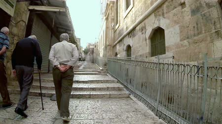 wailing : Strolling in the old city of Jerusalem, Israel