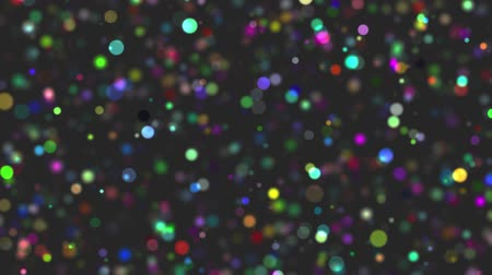 sylvester : colorful particle background