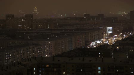 stalinist : Night Moscow time lapse.