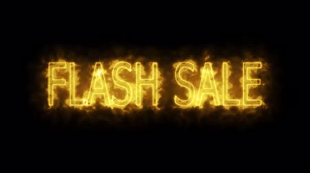 flash sale fractal yellow mark glow end offset 2 second Wideo