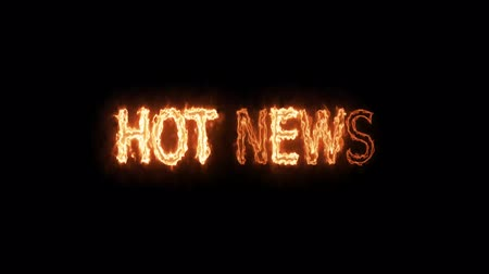 hot news fire mark glow end offset 2 second
